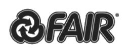 Logo Fair Cheminées contemporaines Sparte Saint Orens Toulouse poêle à granulés