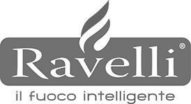 Logo Ravelli Cheminées contemporaines Sparte Saint Orens Toulouse poêle à granulés