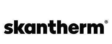Logo Skantherm Cheminées contemporaines Sparte Saint Orens Toulouse poêle à granulés