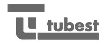 Logo Tubest Cheminées contemporaines Sparte Saint Orens Toulouse poêle à granulés