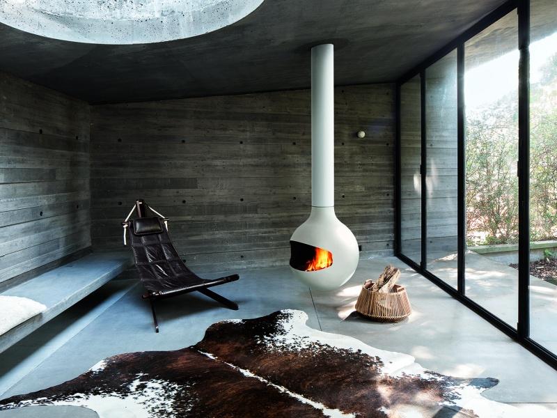 Foyers ouverts Cheminées contemporaines Sparte Saint Orens Toulouse poêle à granulés